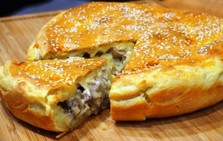 Cheesburger Kuchen, den schaffst du niemals alleine zu essen